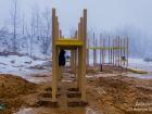 Ход строительства дома № 8 в ЖК Красная поляна - фото 49, Ноябрь 2016