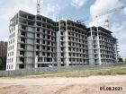 Ход строительства дома № 1 в ЖК Корица - фото 17, Август 2021