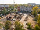 Ход строительства дома № 1 в ЖК Город чемпионов - фото 94, Сентябрь 2014