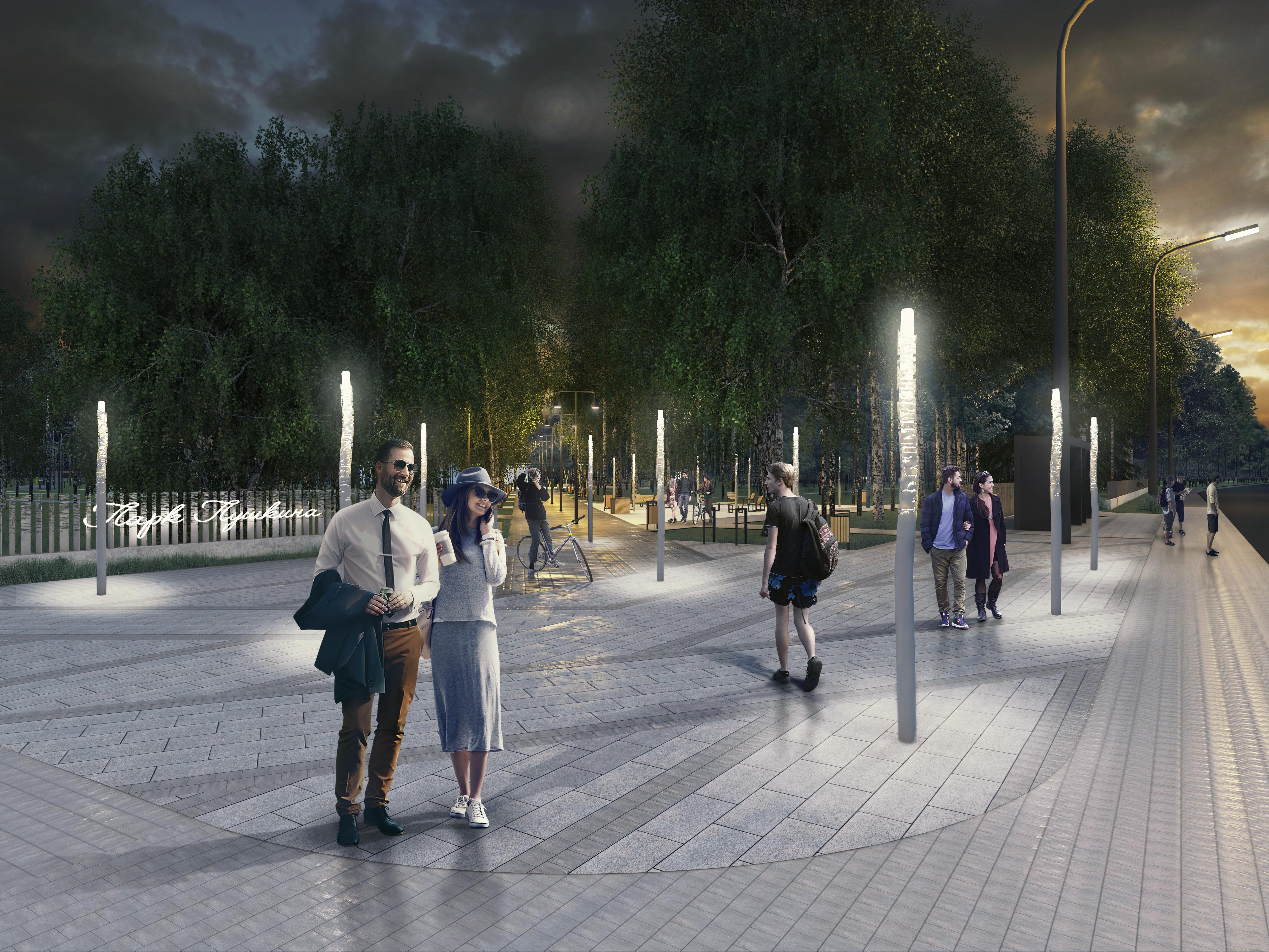 Концепция благоустройства парка имени А.С.Пушкина в Нижнем Новгороде - фото 1