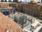 Ход строительства дома 6 в ЖК Георгиевский - фото 2, Сентябрь 2020