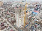 ЖК Онегин - ход строительства, фото 42, Февраль 2021