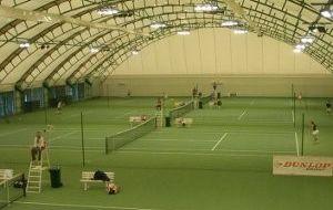Школа большого тенниса наулице Федоссенко