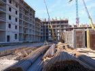 Ход строительства дома Литер 4 в ЖК Самолет 2 - фото 8, Март 2021