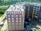 Ход строительства дома на участке № 214 в ЖК Солнечный город - фото 35, Август 2018