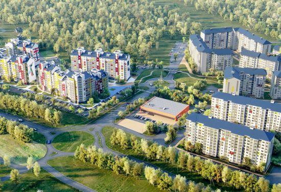 ЖК Бабяково. Зеленый квартал
