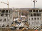 Ход строительства дома № 1 первый пусковой комплекс в ЖК Маяковский Парк - фото 35, Апрель 2021