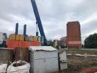 Ход строительства дома № 1 в ЖК Дом на Набережной - фото 1, Июнь 2020