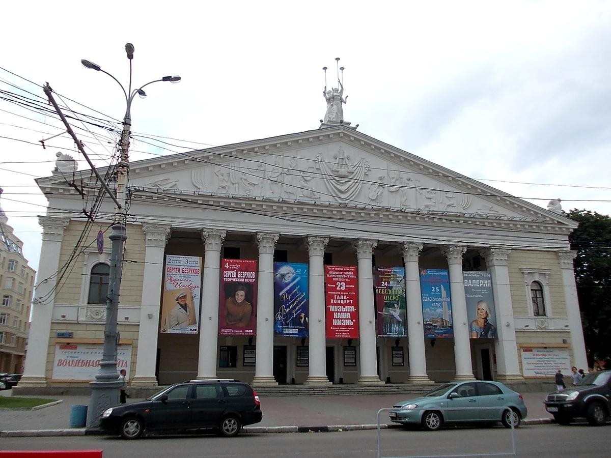 Воронежский оперный театр нарастят на этаж: определена концепция реконструкции