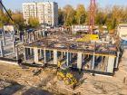 Ход строительства дома № 1 первый пусковой комплекс в ЖК Маяковский Парк - фото 80, Октябрь 2020