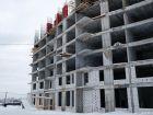 Ход строительства дома № 1 в ЖК Книги - фото 32, Февраль 2021