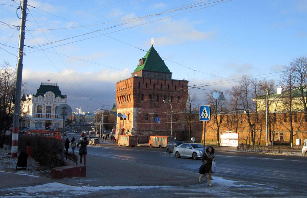 Центральные улицы Нижнего Новгорода перекроют для автотранспорта