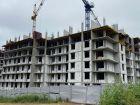 Ход строительства дома № 1 в ЖК Корица - фото 24, Июль 2021