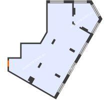3 комнатная квартира 98,5 м² в ЖК АТЛАНТ СИТИ, дом №2 - планировка
