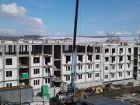 Ход строительства дома № 1 в ЖК Лайм - фото 65, Март 2019