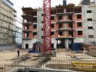 Ход строительства дома на Минина, 6 в ЖК Георгиевский - фото 12, Апрель 2021