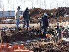 Ход строительства дома 1 типа в Микрогород Стрижи - фото 303, Март 2014