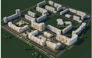 Жилой комплекс (ЖК) «Волжские Просторы» в городе Кстово