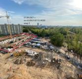 Ход строительства дома № 3 в ЖК Южный бульвар -