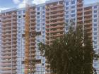 Ход строительства дома № 1 корпус 1 в ЖК Жюль Верн - фото 65, Июль 2016