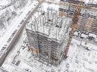 ЖК Горизонт - ход строительства, фото 24, Январь 2021