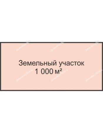 Студия 1000 м² в КП Ласточки, дом Участок № 3, 1000 м²